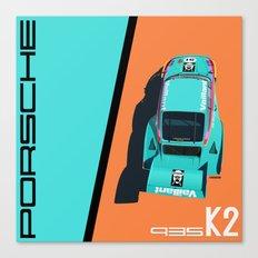 1977 935 Kremer K2 - DRM Nürburgring - Bob Wollek Winner Canvas Print