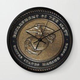 Marine Corps Symbol Style 2 Wall Clock