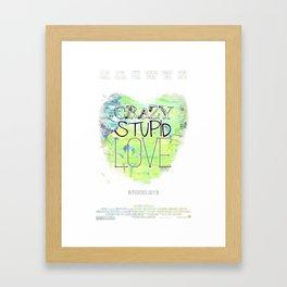 Crazy Stupid Love Framed Art Print