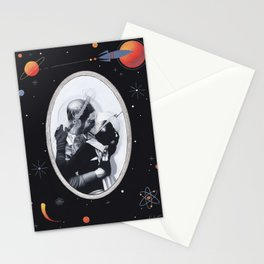 Interplanetary Romance Stationery Cards