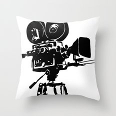 For Reel Throw Pillow