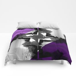 Fractal Wind Vane Skyline Comforters