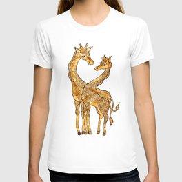 Henna Giraffe T-shirt
