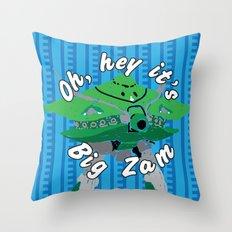 Big Zam Throw Pillow