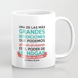 Un hogar centrado en Cristo Coffee Mug