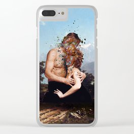 The Beginning Of The End Clear iPhone Case