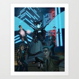 Hypercorps 2099 Art Print