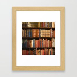 Power book Framed Art Print