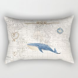 World of Whales Rectangular Pillow