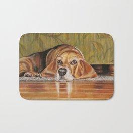 Basset Hound: Tate Bath Mat