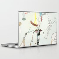 notebook Laptop & iPad Skins featuring Desire creates the power. by Nayoun Kim
