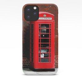 Red Phone Box- London England UK iPhone Case