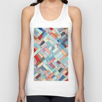 andreas preis Tank Tops featuring Summer in the City by Ann Marie Coolick