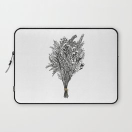 Dry Bouquet with Gold String Laptop Sleeve