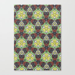 LeeScratch Canvas Print