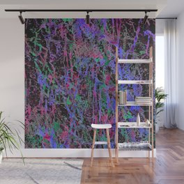 colourful splatters  Wall Mural