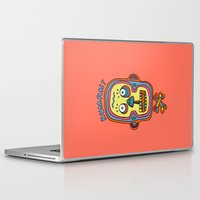 human Laptop & iPad Skins featuring Human  by PINT GRAPHICS