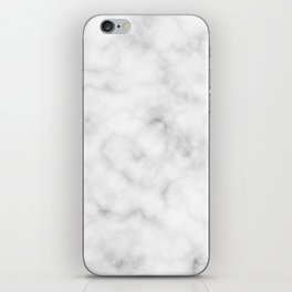 Marble White Texture iPhone Skin