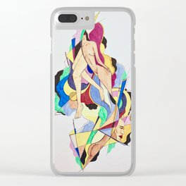 Body mash III Clear iPhone Case
