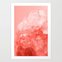 Coral Gem Art Print