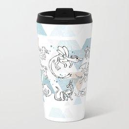 Dragons pattern Travel Mug