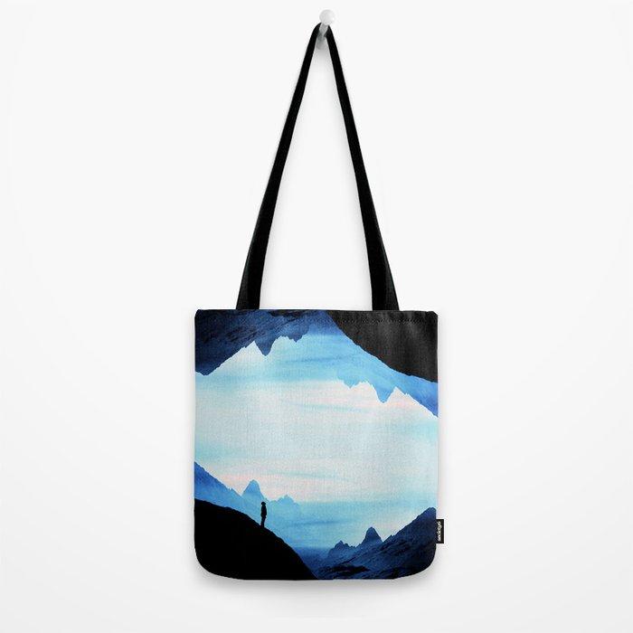 Blue Wasteland Isolation Tote Bag