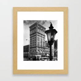 Third & Main Framed Art Print