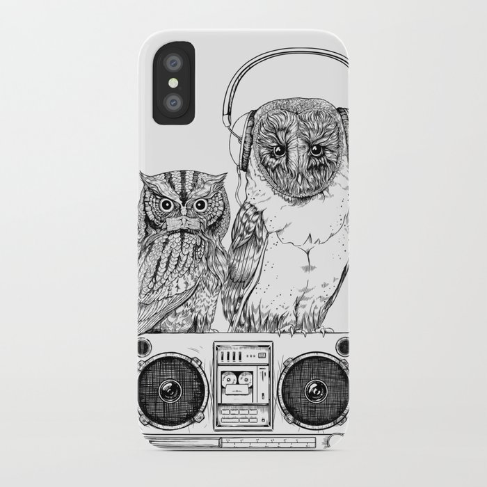 Silent Night ANALOG zine iPhone Case