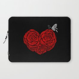 A Butterfly to be, a Rose to blossom... Laptop Sleeve