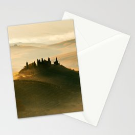 Sunrise in Val D'Orcia Stationery Cards