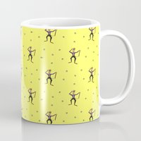 willy wonka Mugs featuring Strike that. Reverse it. (Willy Wonka & the Chocolate Factory Quote) by Emanuel Adams
