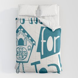 Time for Tea Comforters