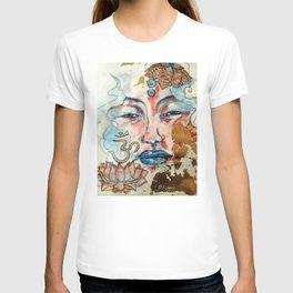 Buddah, lotus and OM T-shirt