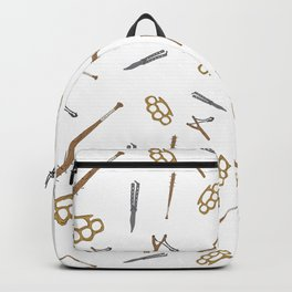 Weapons Pattern Backpack
