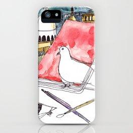 Birds Journals Paris iPhone Case