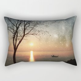 The old man and the sea Rectangular Pillow