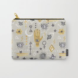Mystic, Third Eye, Palmistry Carry-All Pouch