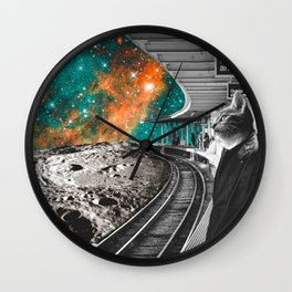 Mondays Wall Clock