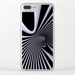 opart -57- inside the donut Clear iPhone Case