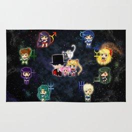 Sailor Moonies Rug