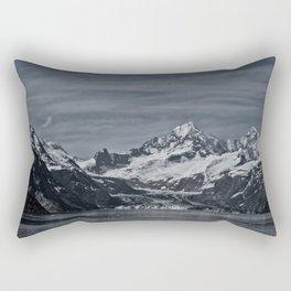 Margerie Glacier and Mount Fairweather, Glacier Bay Alaska, Rectangular Pillow