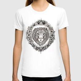 Flower Lion T-shirt