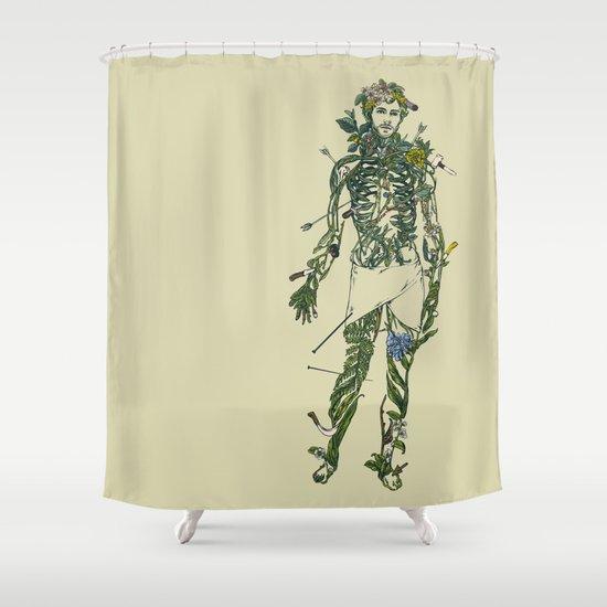 Wound Man Shower Curtain