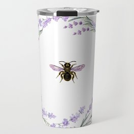 Lavender Bee Travel Mug