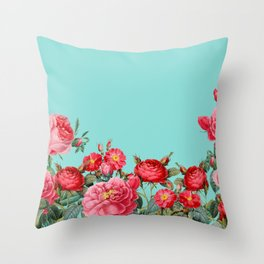 Fab Floral Throw Pillow
