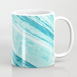 Abstract Marble - Teal Turquoise Coffee Mug