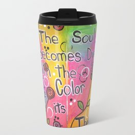 Color The Soul Travel Mug