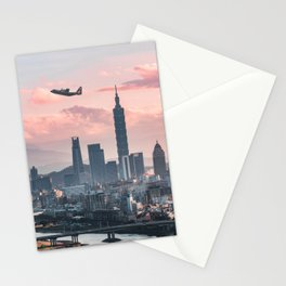 Taipei Takeoff Stationery Cards