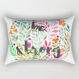 Be strong V1 - Just be Collection Rectangular Pillow