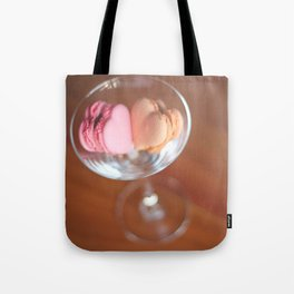 Valentine macarons Tote Bag